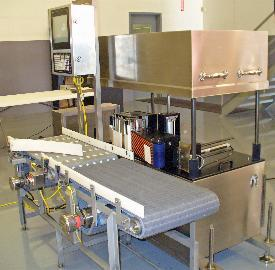 Model 250 with Pneumatic wash down cabinet