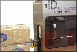 ID Technology 255 Labeling System for logistics