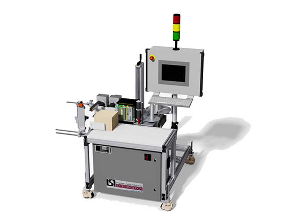 Manual Case Packing Aggregation Labeling System - 1922 - Coding Solutions