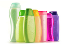 plastic, glass containers