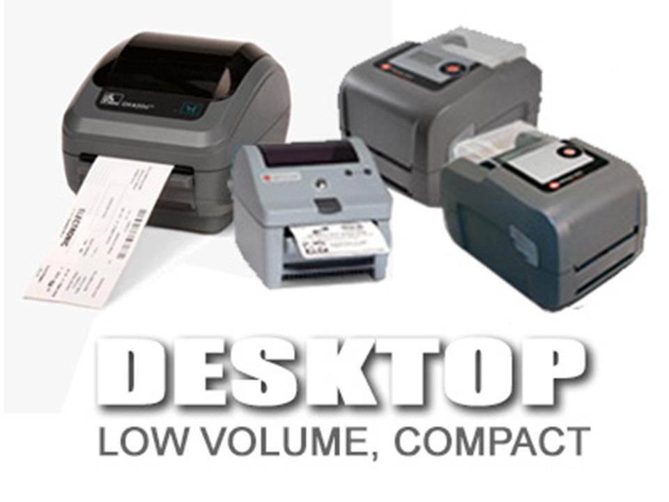 Desktop Thermal Printers - Label Printers