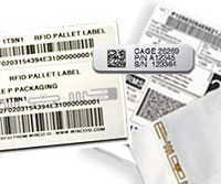 Preprint UID and RFID Labels