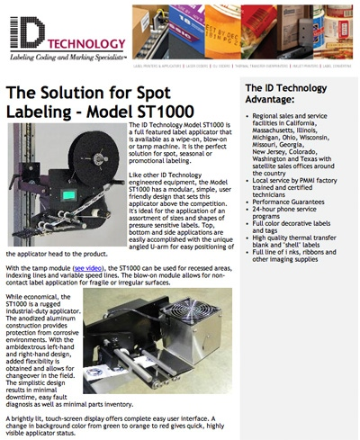 Sample ID Technology Newsletter
