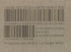 Laser Technology for Yum! brands barcode compliance