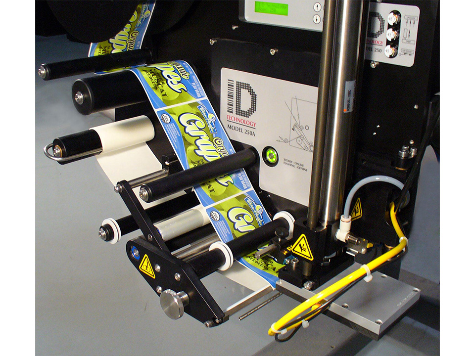 Upgradeable Label Applicator - Model 252A - Label Printer Applicators