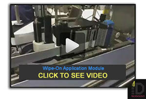 High Speed Wipe-On Label Applicator Module